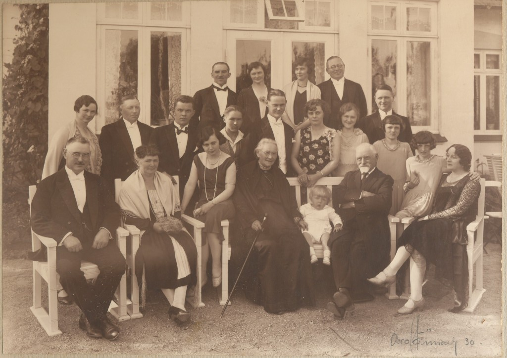 Lindholm, guldbryllup 1930